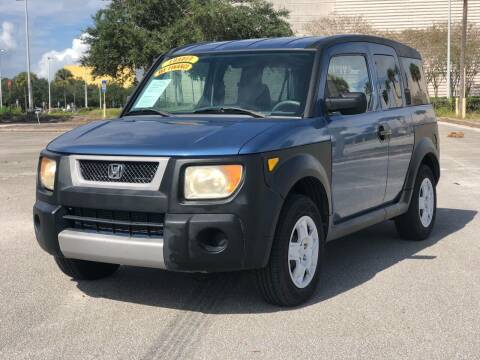 2006 Honda Element for sale at Mycarsonline LLC in Sanford FL