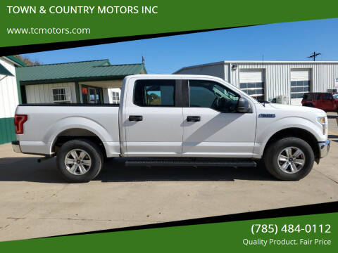 2016 Ford F-150 for sale at Town & Country Motors Inc. in Meriden KS
