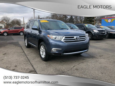 2012 Toyota Highlander for sale at Eagle Motors in Hamilton OH