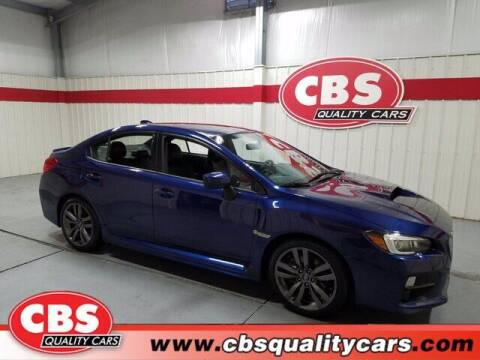 2016 Subaru WRX for sale at CBS Quality Cars in Durham NC