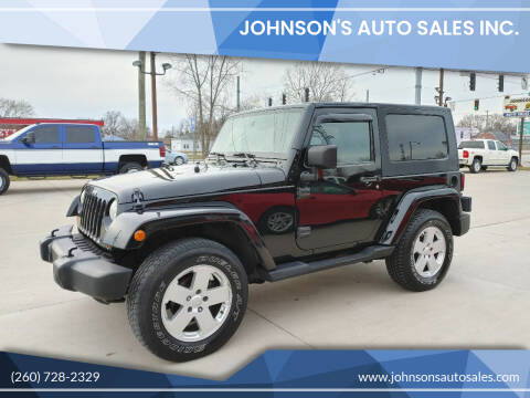2007 Jeep Wrangler for sale at Johnson's Auto Sales Inc. in Decatur IN