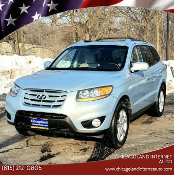 2010 Hyundai Santa Fe for sale at Chicagoland Internet Auto - 410 N Vine St New Lenox IL, 60451 in New Lenox IL