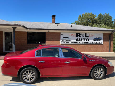 2011 Buick Lucerne for sale at R & L Autos in Salisbury NC
