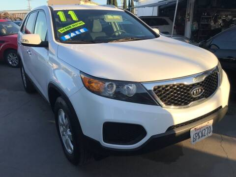 2011 Kia Sorento for sale at CAR GENERATION CENTER, INC. in Los Angeles CA