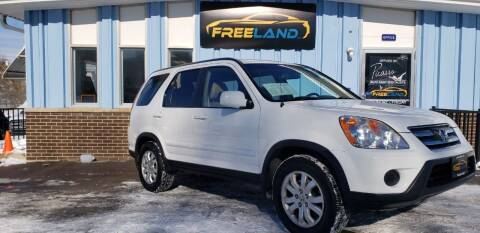 2006 Honda CR-V for sale at Freeland LLC in Waukesha WI