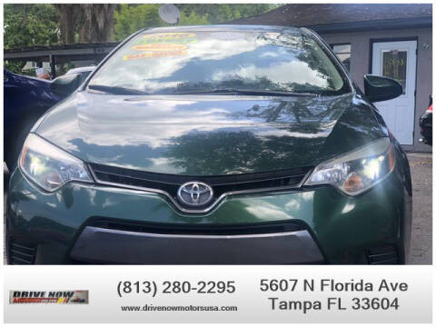 2016 Toyota Corolla for sale at Drive Now Motors USA in Tampa FL