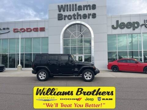 2014 Jeep Wrangler Unlimited for sale at Williams Brothers - Pre-Owned Monroe in Monroe MI