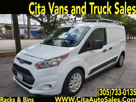 2016 Ford Transit Connect Cargo for sale at Cita Auto Sales in Medley FL