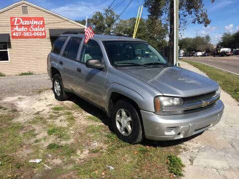2006 Chevrolet TrailBlazer for sale at DAVINA AUTO SALES in Orlando FL