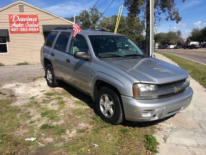 2006 Chevrolet TrailBlazer for sale at DAVINA AUTO SALES in Orlando FL