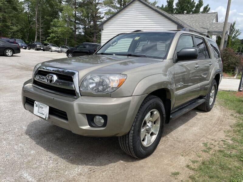 2007 Toyota 4Runner for sale at Williston Economy Motors in South Burlington VT