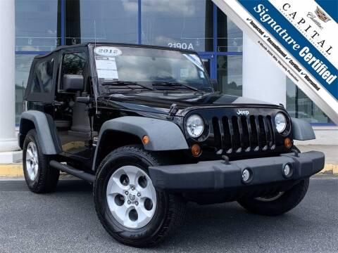 2012 Jeep Wrangler for sale at Capital Cadillac of Atlanta in Smyrna GA