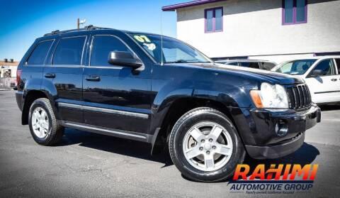 2007 Jeep Grand Cherokee for sale at Rahimi Automotive Group in Yuma AZ