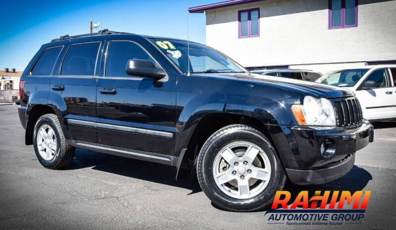 2007 Jeep Grand Cherokee for sale at Rahimi Automotive Group in Yuma AZ