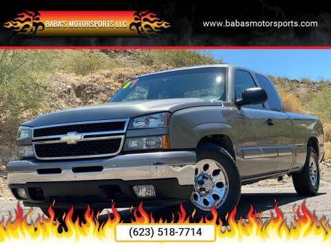 2007 Chevrolet Silverado 1500 Classic for sale at Baba's Motorsports, LLC in Phoenix AZ