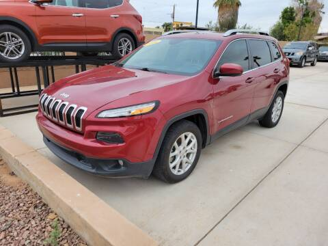2016 Jeep Cherokee for sale at A AND A AUTO SALES in Gadsden AZ