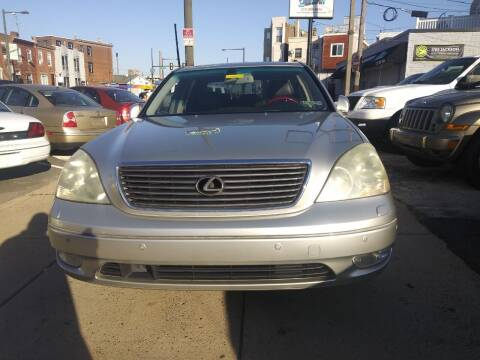 2002 Lexus LS 430 for sale at K J AUTO SALES in Philadelphia PA