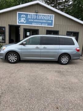 2007 Honda Odyssey for sale at Auto Consider Inc. in Grand Rapids MI