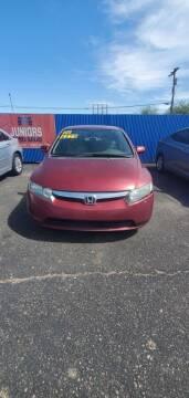 2006 Honda Civic for sale at Juniors Auto Sales in Tucson AZ