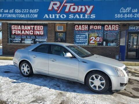 2009 Cadillac CTS for sale at R Tony Auto Sales in Clinton Township MI