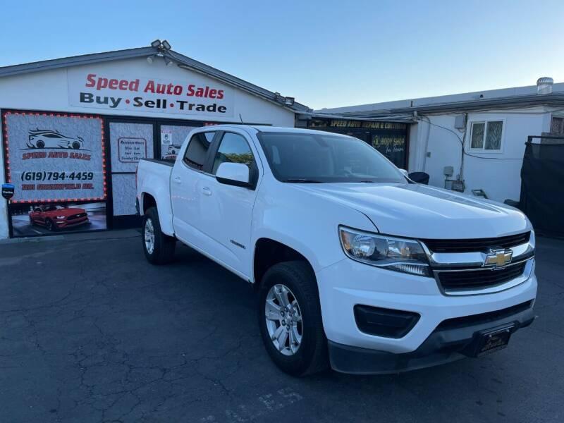 2018 Chevrolet Colorado for sale at Speed Auto Sales in El Cajon CA