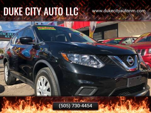 2016 Nissan Rogue for sale at Duke City Auto LLC in Gallup NM