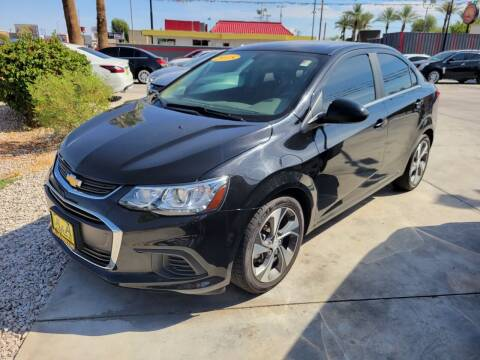 2018 Chevrolet Sonic for sale at A AND A AUTO SALES in Gadsden AZ