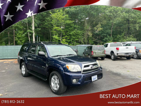 2007 Toyota 4Runner for sale at Best Auto Mart in Weymouth MA
