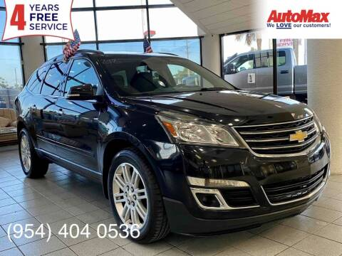 2015 Chevrolet Traverse for sale at Auto Max in Hollywood FL
