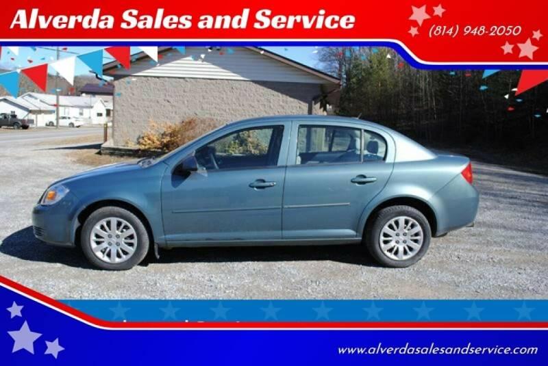 2010 Chevrolet Cobalt for sale at Alverda Sales and Service in Alverda PA