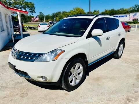 2007 Nissan Murano for sale at Testarossa Motors Inc. in League City TX