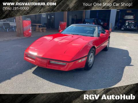 1986 Chevrolet Corvette for sale at RGV AutoHub in Harlingen TX