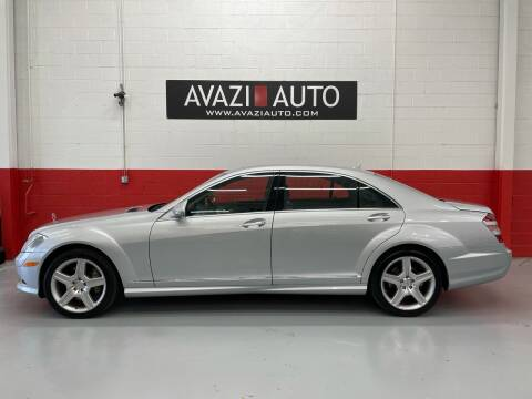 2008 Mercedes-Benz S-Class for sale at AVAZI AUTO GROUP LLC in Gaithersburg MD