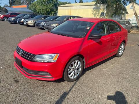 2015 Volkswagen Jetta for sale at JZ Auto Sales in Happy Valley OR