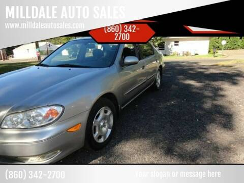 2001 Infiniti I30 for sale at MILLDALE AUTO SALES in Portland CT