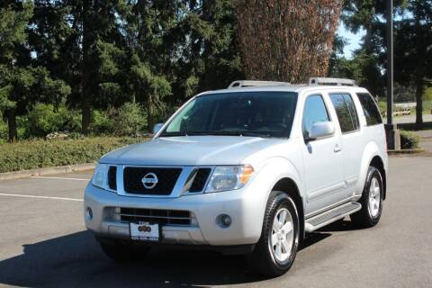 2011 Nissan Pathfinder for sale at Top Gear Motors in Lynnwood WA