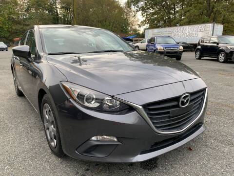 2014 Mazda MAZDA3 for sale at D & M Discount Auto Sales in Stafford VA
