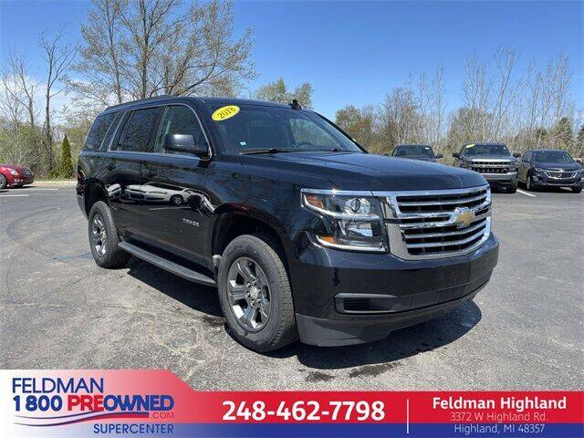 2018 Chevrolet Tahoe for sale in Highland, MI