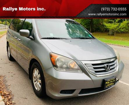 2008 Honda Odyssey for sale at Rallye  Motors inc. in Newark NJ