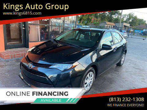 2017 Toyota Corolla for sale at Kings Auto Group in Tampa FL
