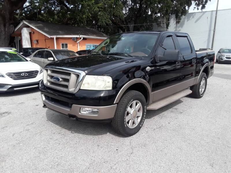 2005 Ford F-150 for sale at Gold Motors Auto Group Inc in Tampa FL