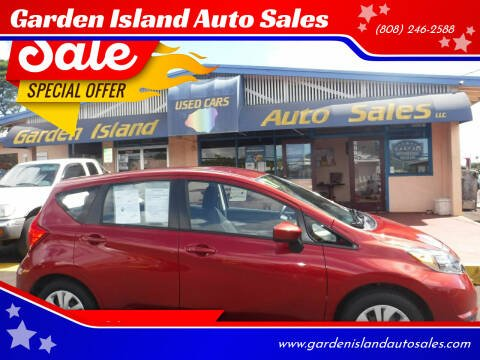 2017 Nissan Versa Note for sale at Garden Island Auto Sales in Lihue HI