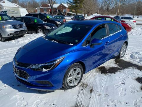 2017 Chevrolet Cruze for sale at Auto Choice in Belton MO