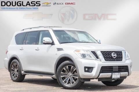 2017 Nissan Armada for sale at Douglass Automotive Group - Douglas Chevrolet Buick GMC in Clifton TX