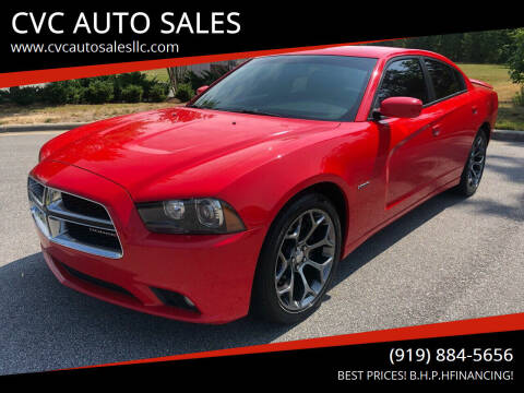 2014 Dodge Charger for sale at CVC AUTO SALES in Durham NC