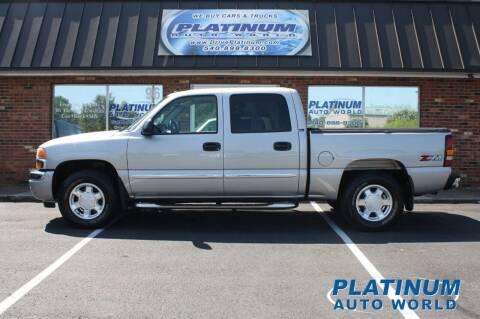 2006 GMC Sierra 1500 for sale at Platinum Auto World in Fredericksburg VA