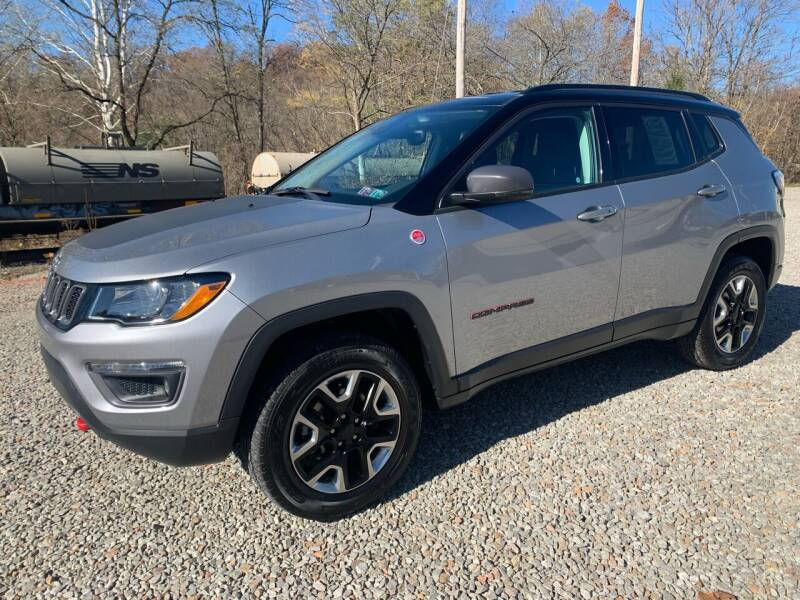 2017 Jeep Compass for sale at Reds Garage Sales Service Inc in Bentleyville PA