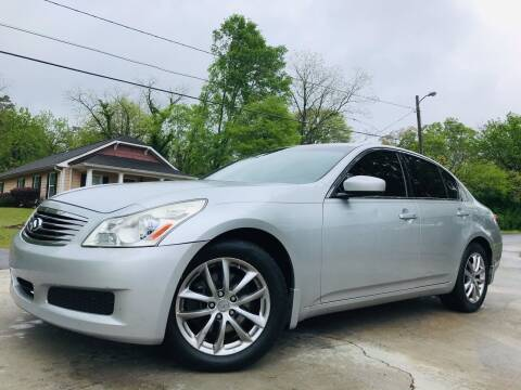 2009 Infiniti G37 Sedan for sale at E-Z Auto Finance in Marietta GA