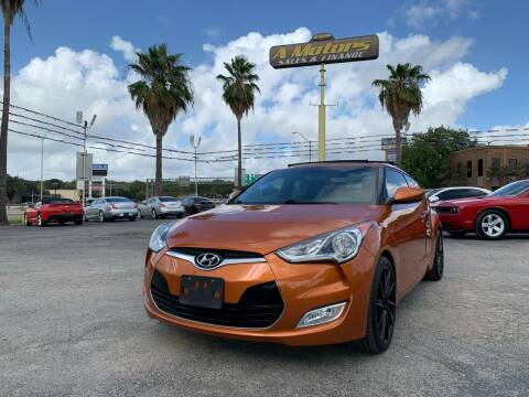 2013 Hyundai Veloster for sale at A MOTORS SALES AND FINANCE in San Antonio TX