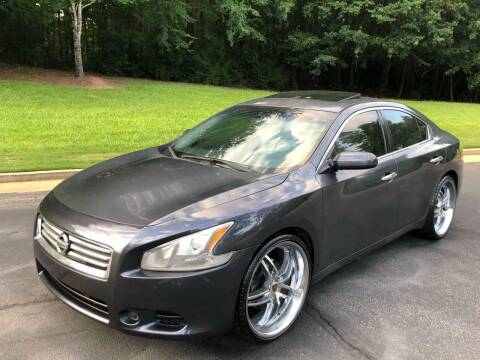 2012 Nissan Maxima for sale at Top Notch Luxury Motors in Decatur GA